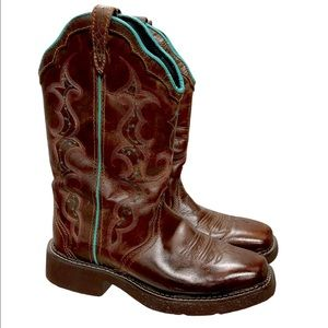 Justin Gypsy Cowboy Boots Embroidered